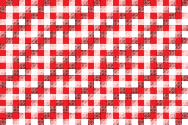 Tablecloth background red seamless pattern