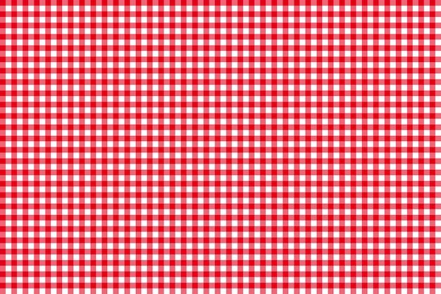テーブルクロスシームレスパターン赤
