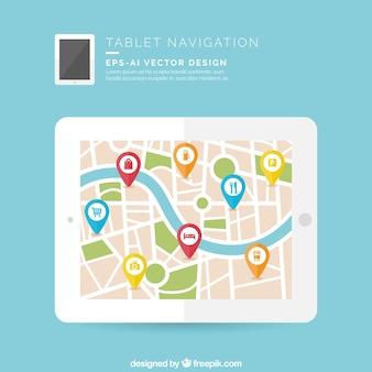 Navigazione tablet