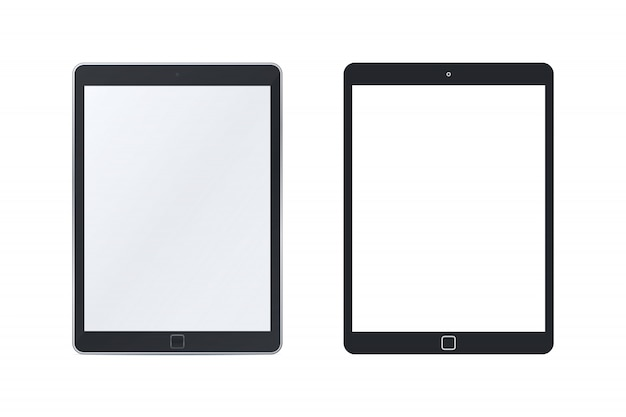 Tablet pc templates