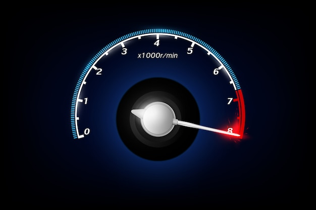 Tachometer.  .
