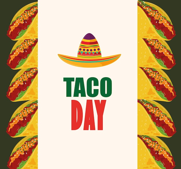 Taco day banner