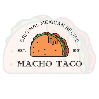 Визитная карточка taco