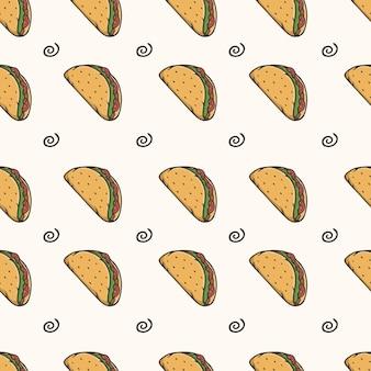 타코 원활한 패턴