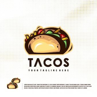 Логотип иллюстрации тако