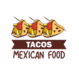 Tacos. mexican cuisine. a set of popular mexican dishes. fast food.