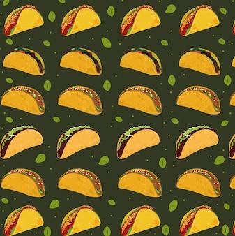 Тако мексиканская еда