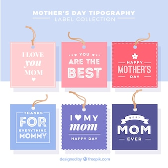 Tag collection for mother's day