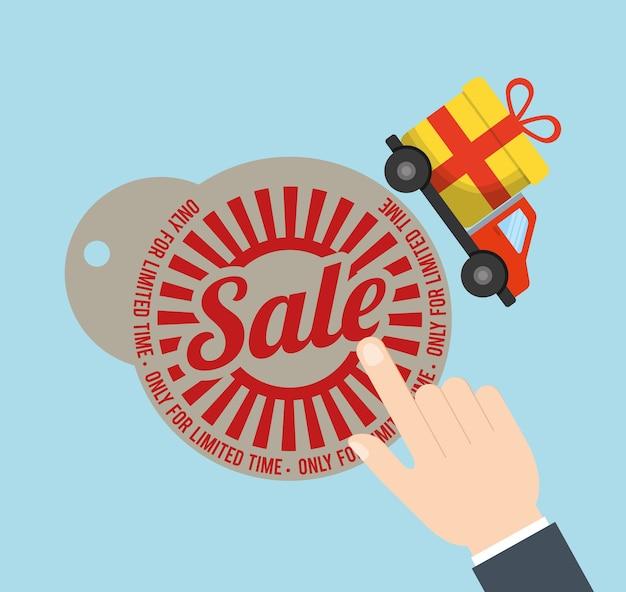 Бирка цена продажа грузовик подарок значок