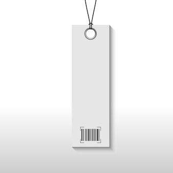 Tag price with barcode
