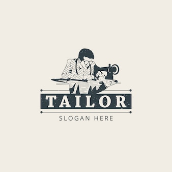 Tailor logo template