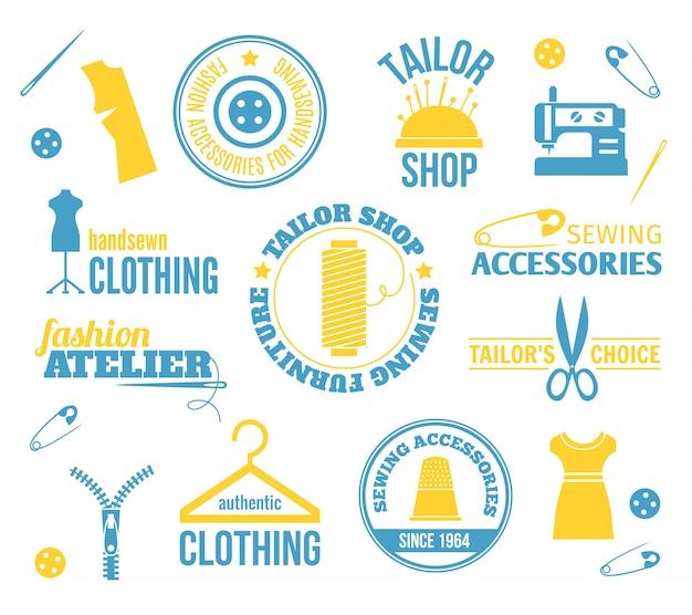 Шаблоны логотипов tailor