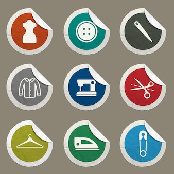 Tailoring  vector icons for web sites and user interface