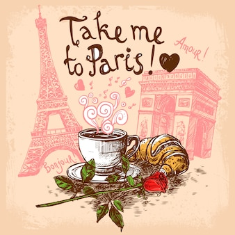 Take me to paris concept