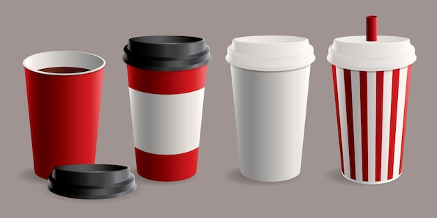 Takeaway cup collection