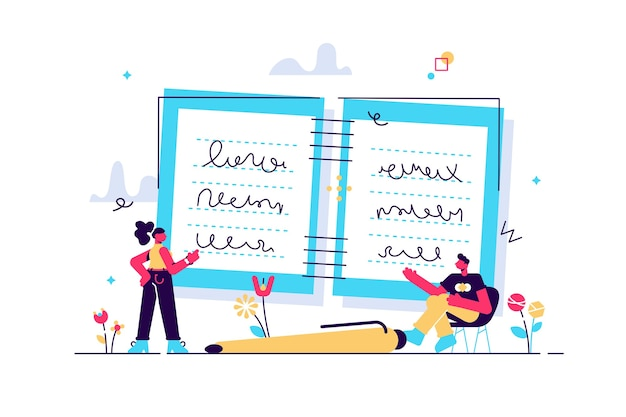 Taking notes as writing process of study in memo diary