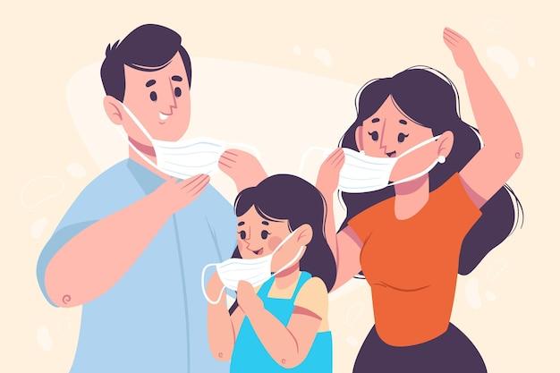 Togliere il concetto di maschera