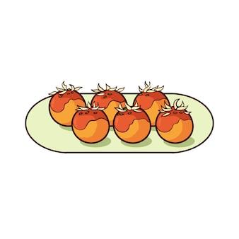 Такояки - типичная японская еда