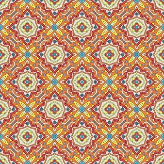 Talavera рoblana mexican seamless pattern
