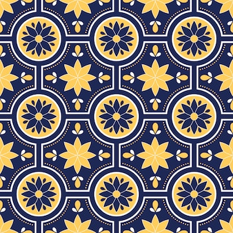 Talavera pattern, azulejos portugal, moroccan tileweb