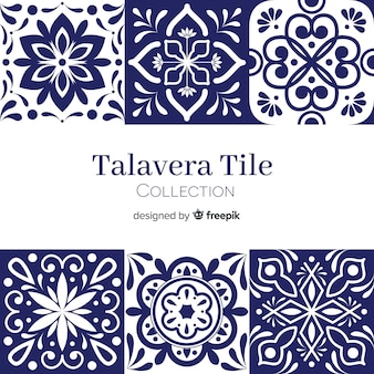 Talavera tile set