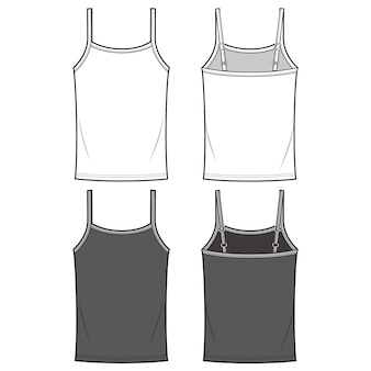 Tank Top Template Vectors Photos And Psd Files Free Download
