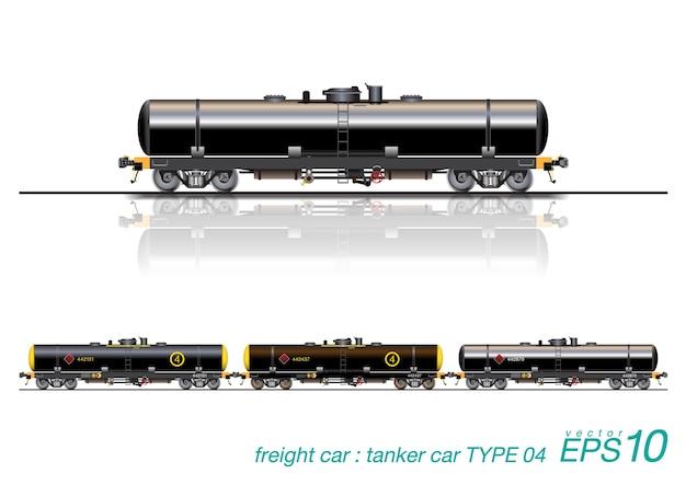 Tanker car railroad