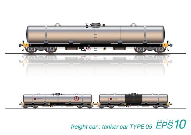 Tanker train wagon