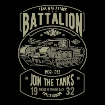 Tanks battalion
