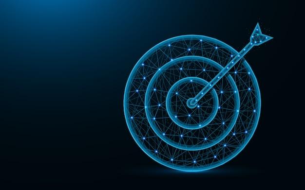 Target poly design