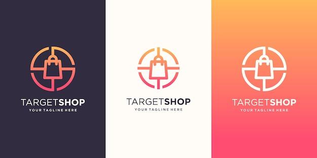 ターゲットショップのロゴデザインテンプレート