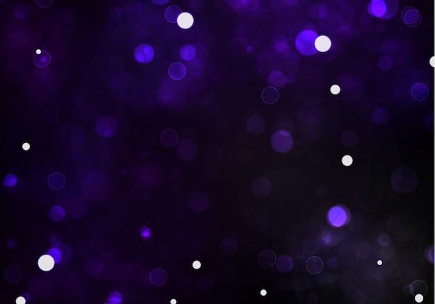 暗い黒いtarnsparent背景にぼけボケライト。と新年の祝日テンプレート。抽象的なキラキラデフォーカス点滅星と火花。