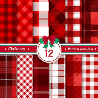 Tartan check plaid seamless pattern