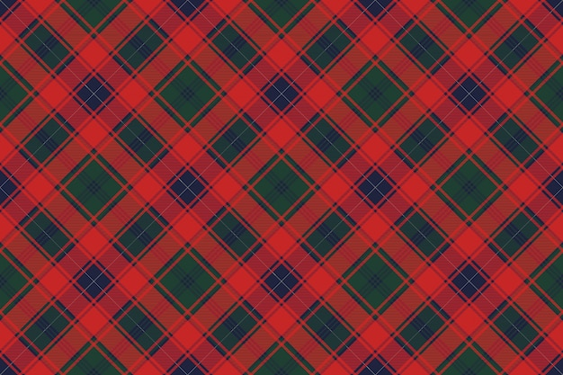 Tartan fabric texture seamless pattern