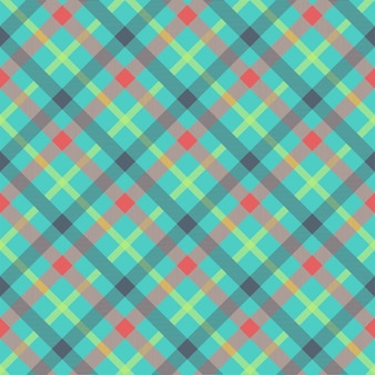 Tartan multicolor seamless pattern