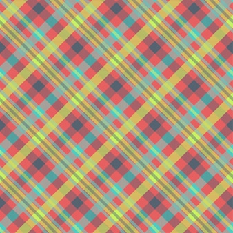 Tartan multicolor seamless vector pattern