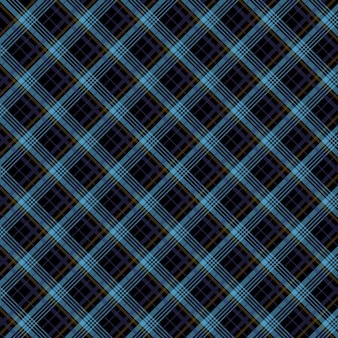 Tartan pattern diagonal fabric background material