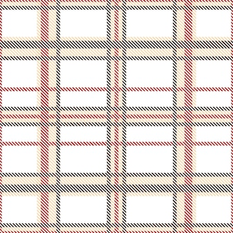 Tartan pattern seamless with brown and red tones.