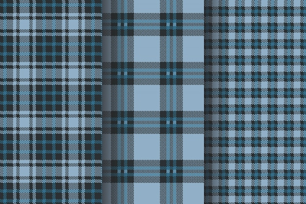 Tartan patterns  collection