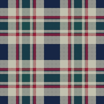 Тартан плед классический пиксель текстура ткани бесшовный фон