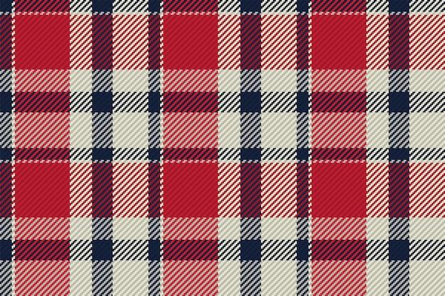 타탄 격자 무늬 드로잉 벡터 배경입니다. 패션 패턴입니다.