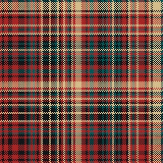 Tartan plaid pattern seamless. print fabric texture. check  background.