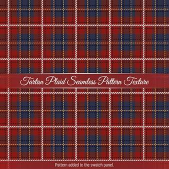 Tartan plaid seamless pattern background premium vector