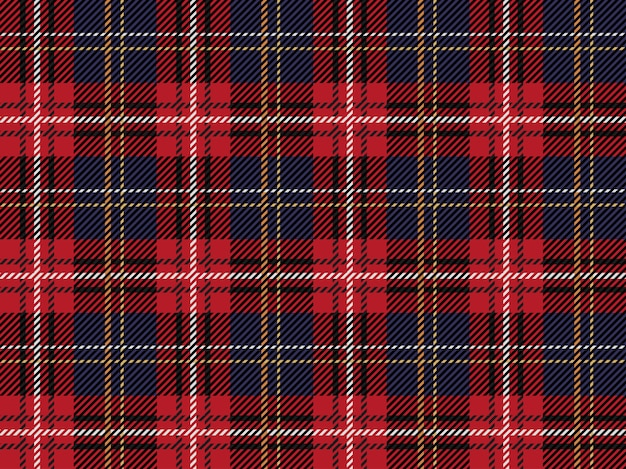 Tartan plaid seamless pattern background