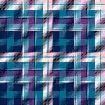 タータンスコットランドのシームレスな格子縞パターン背景