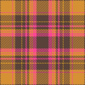 タータンスコットランドシームレスな格子縞のパターン。テキスタイルプリント、包装紙、ギフトカード、壁紙フラットデザインのレトロな背景の生地の幾何学的なテクスチャー。