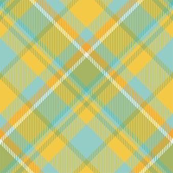 타탄 스코틀랜드 원활한 격자 무늬 패턴입니다. 복고풍 배경 패브릭입니다. 섬유 인쇄, 포장지, 선물 카드, 벽지 평면 디자인을위한 빈티지 체크 색상 사각형 기하학적 질감.