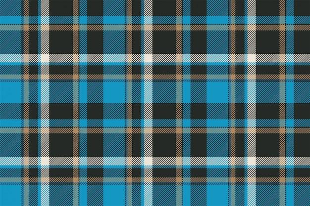 タータンスコットランドシームレスな格子縞のパターン。レトロな背景の生地。テキスタイルプリント、包装紙、ギフトカード、壁紙のヴィンテージチェック色の正方形の幾何学的なテクスチャー。