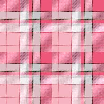 タータンスコットランドのシームレスな格子縞のパターン。レトロな背景の生地。テキスタイルのビンテージチェック色の正方形の幾何学的なテクスチャー