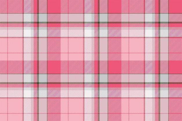 타탄 스코틀랜드 원활한 격자 무늬 패턴입니다. 복고풍 배경 패브릭입니다. 빈티지 체크 색상 사각형 기하학적 텍스처입니다.